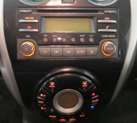 Note Daewoo radio