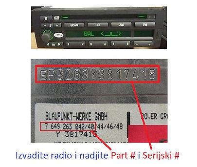Land rover Blaupunkt radio code.jpg