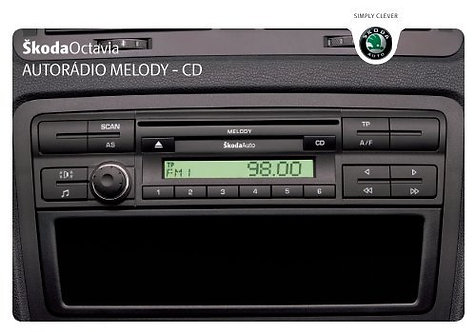 Skoda Melody CD radio code