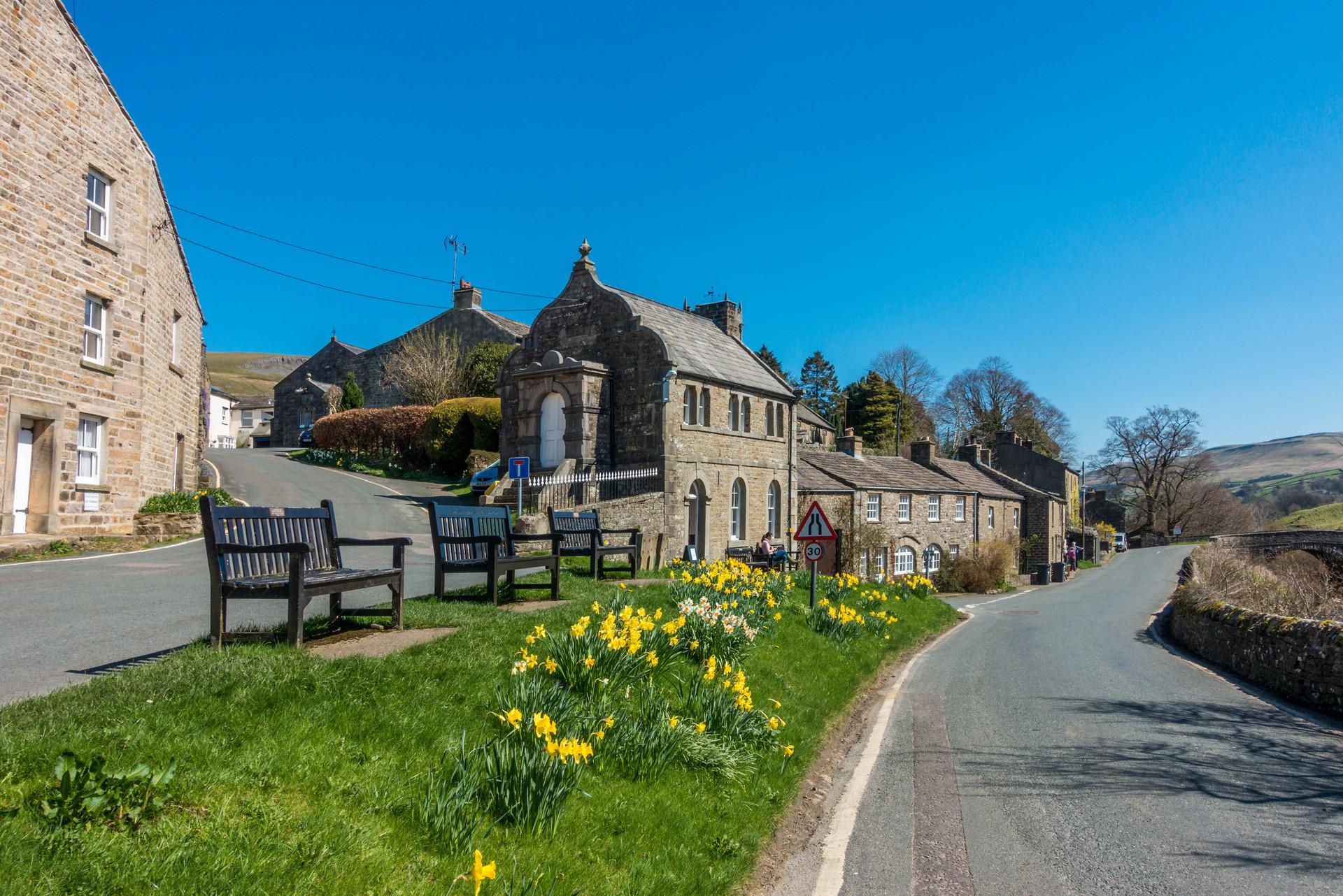 North Yorkshire's delightful Muker village
