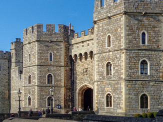The majestic Windsor Castle