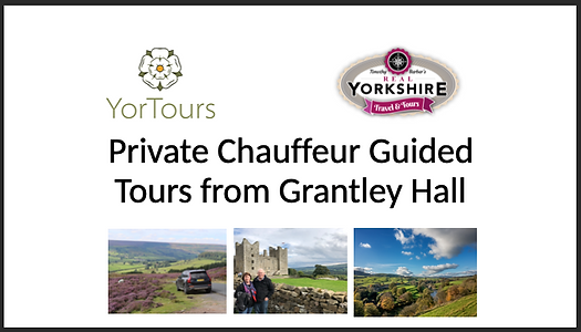 Private Guided Tours from Grantley Hall