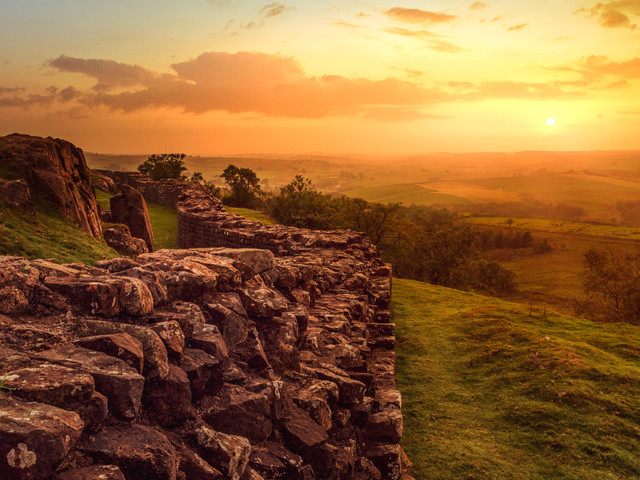 The drama of Hadrian's Wall