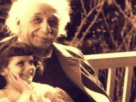 Brief von Albert Einstein an seine Tochter