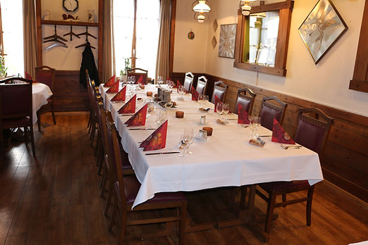 Hotel Restaurant Bahnhof in Schüpfen -  Bankettsaal