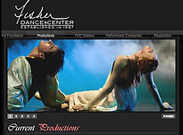 Web Design for  Dance Studio