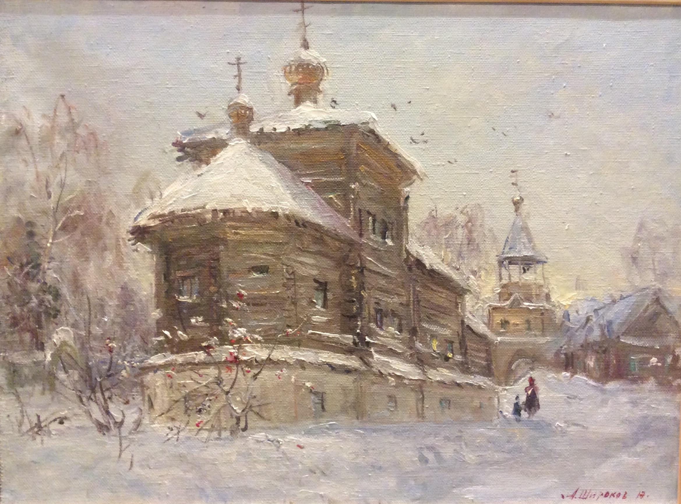 """А.Широков """"Монастырь"""""""