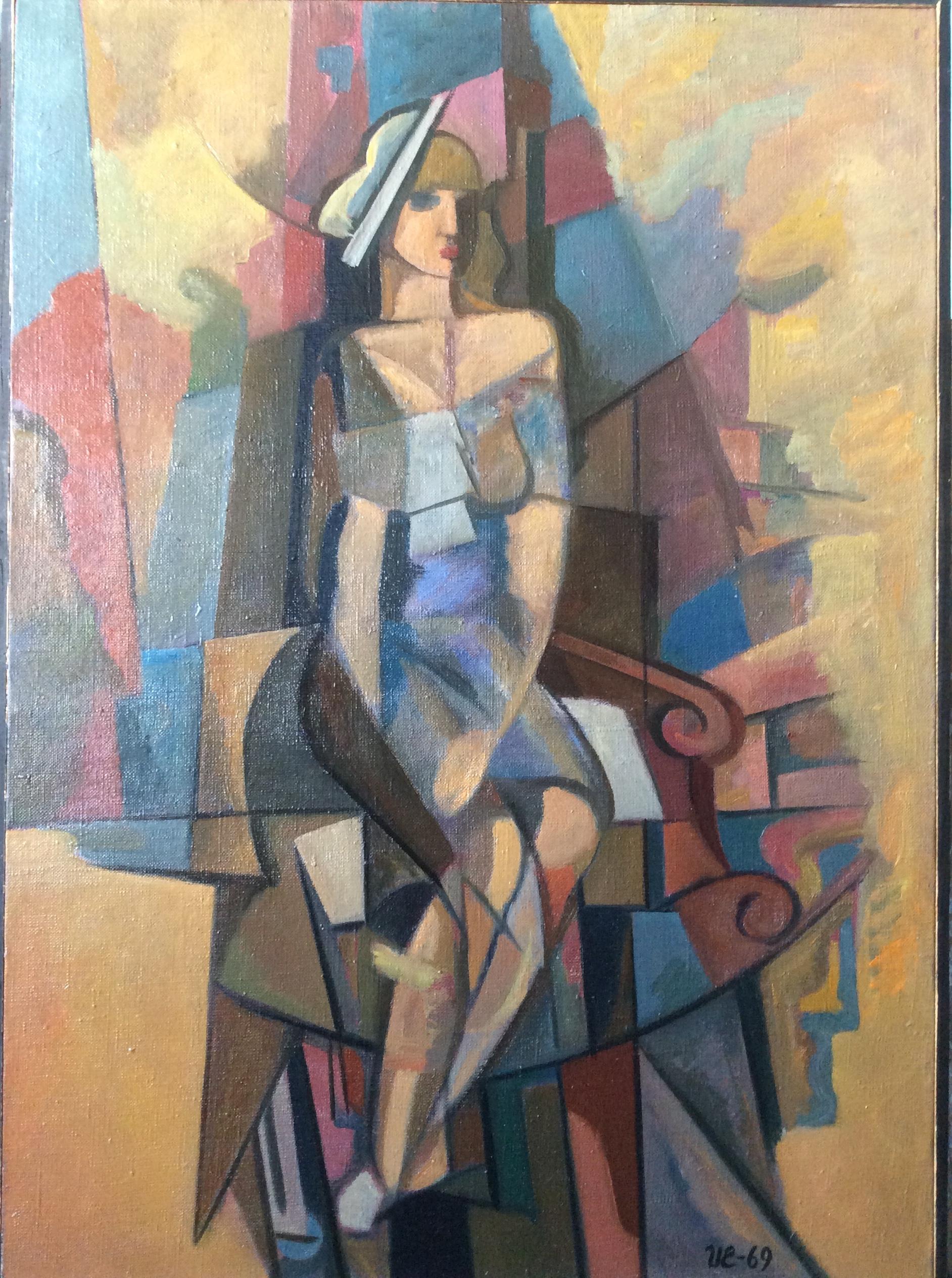 И.Еськов. Женский портрет