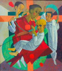 """А.Мочалов """"Искупление. Триптих"""" 2003-2007г.г."""