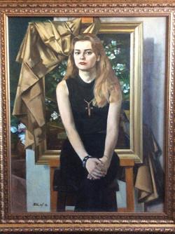 В.Жемерикин. Оля. 1998г.