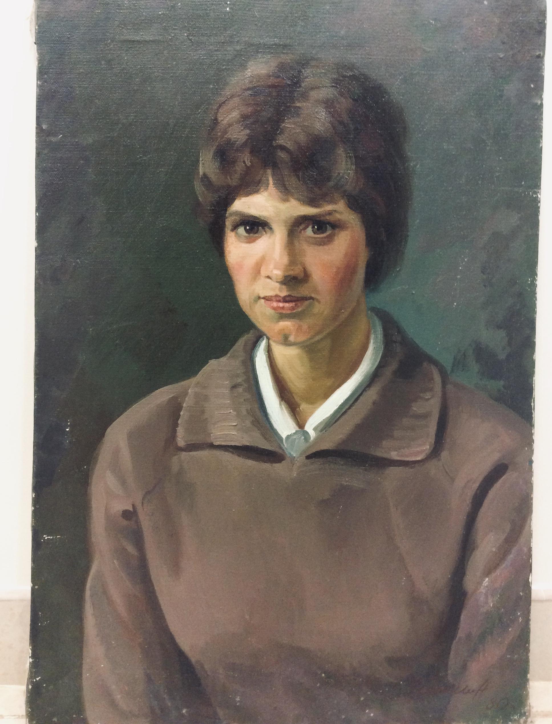 Г.Гришин. Женский портрет
