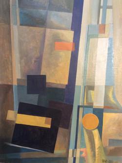 Еськов И.И. Черный квадрат. 1980