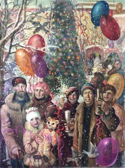И.Широкова. Новый год. 2012г.