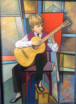И.Еськов. Юный музыкант,1991г