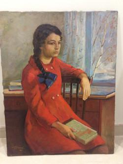 Д.Фролов. Женский портрет 1968г.