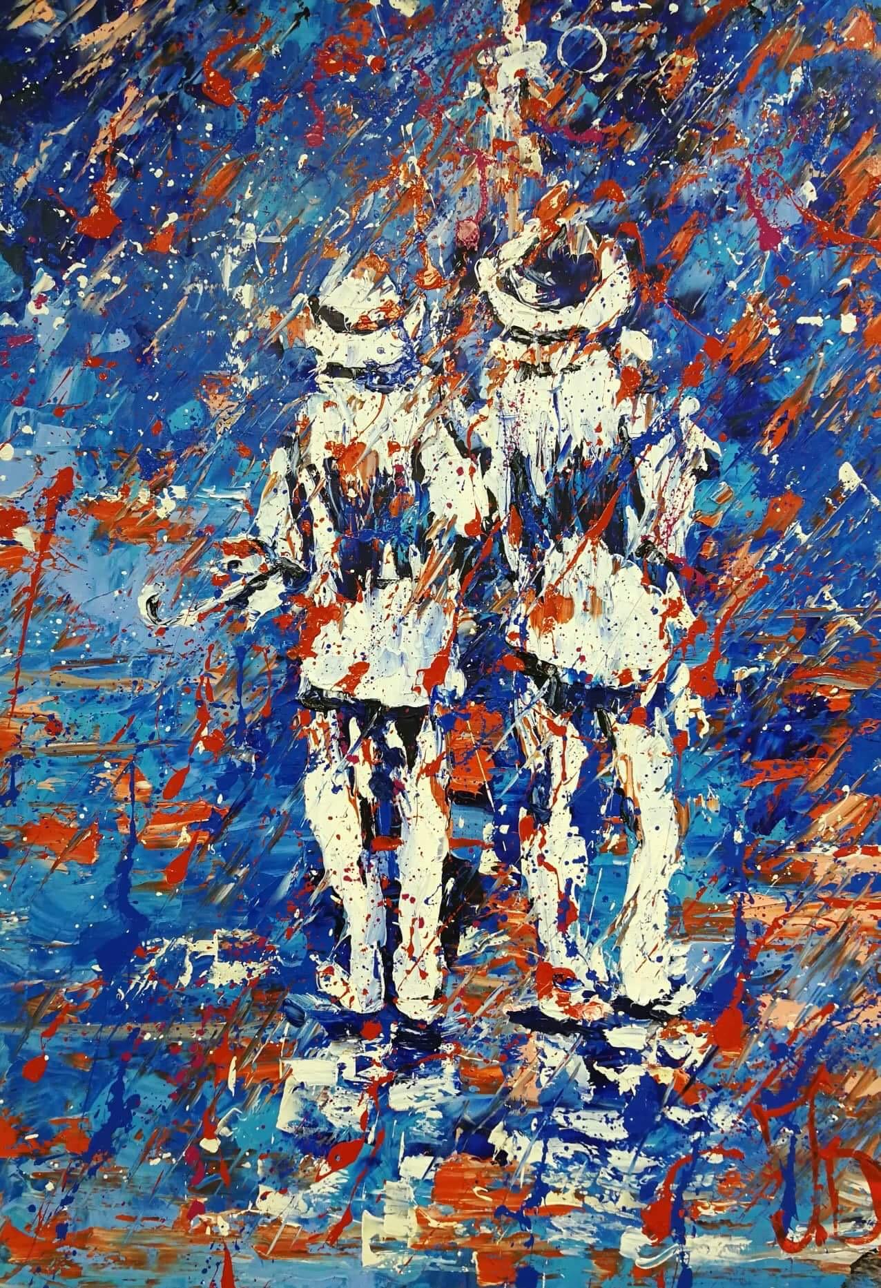 """Д.Ермак """"Прогулка"""" 2016г."""