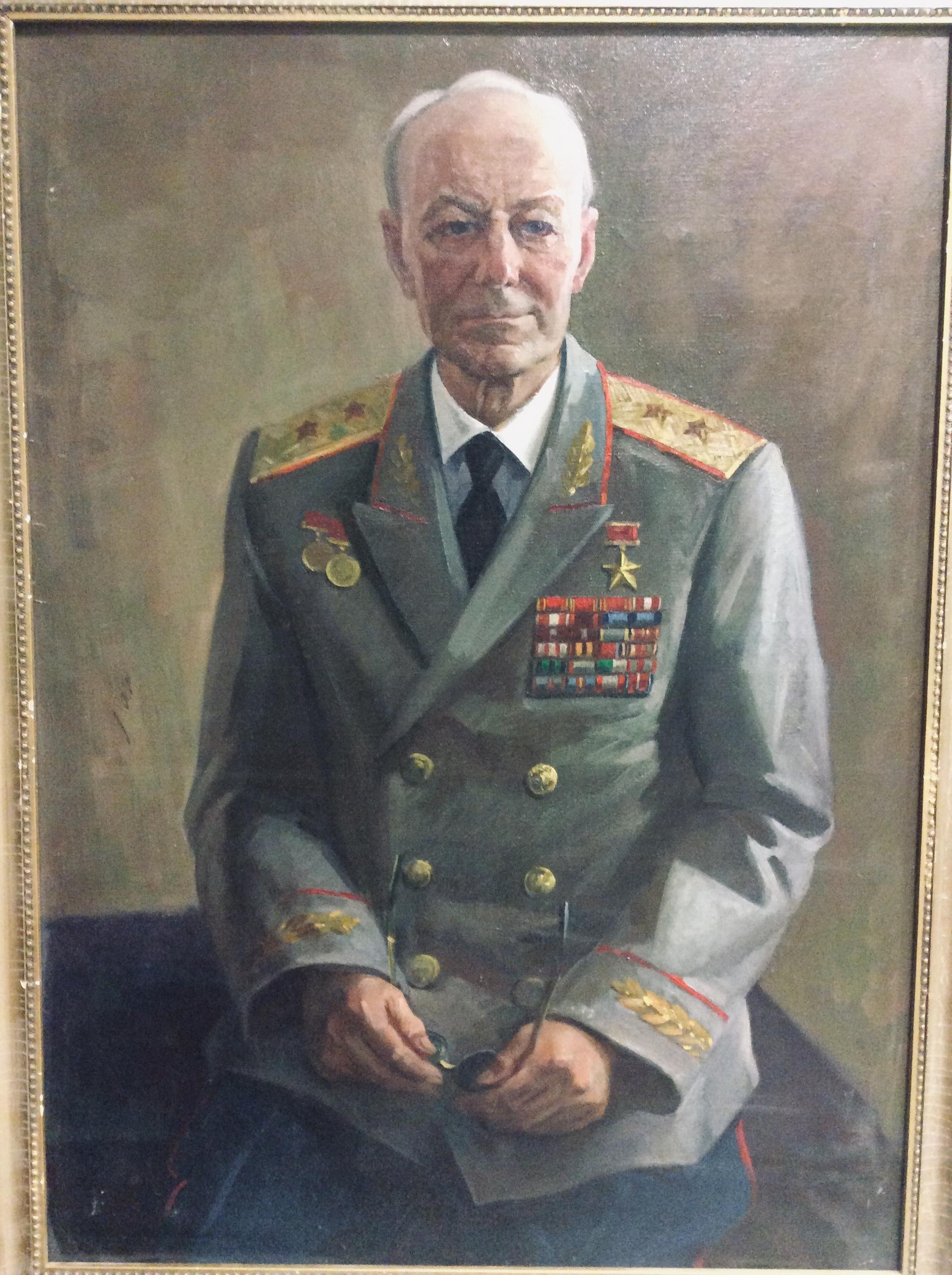 Г.Гришин. Мужской портрет.