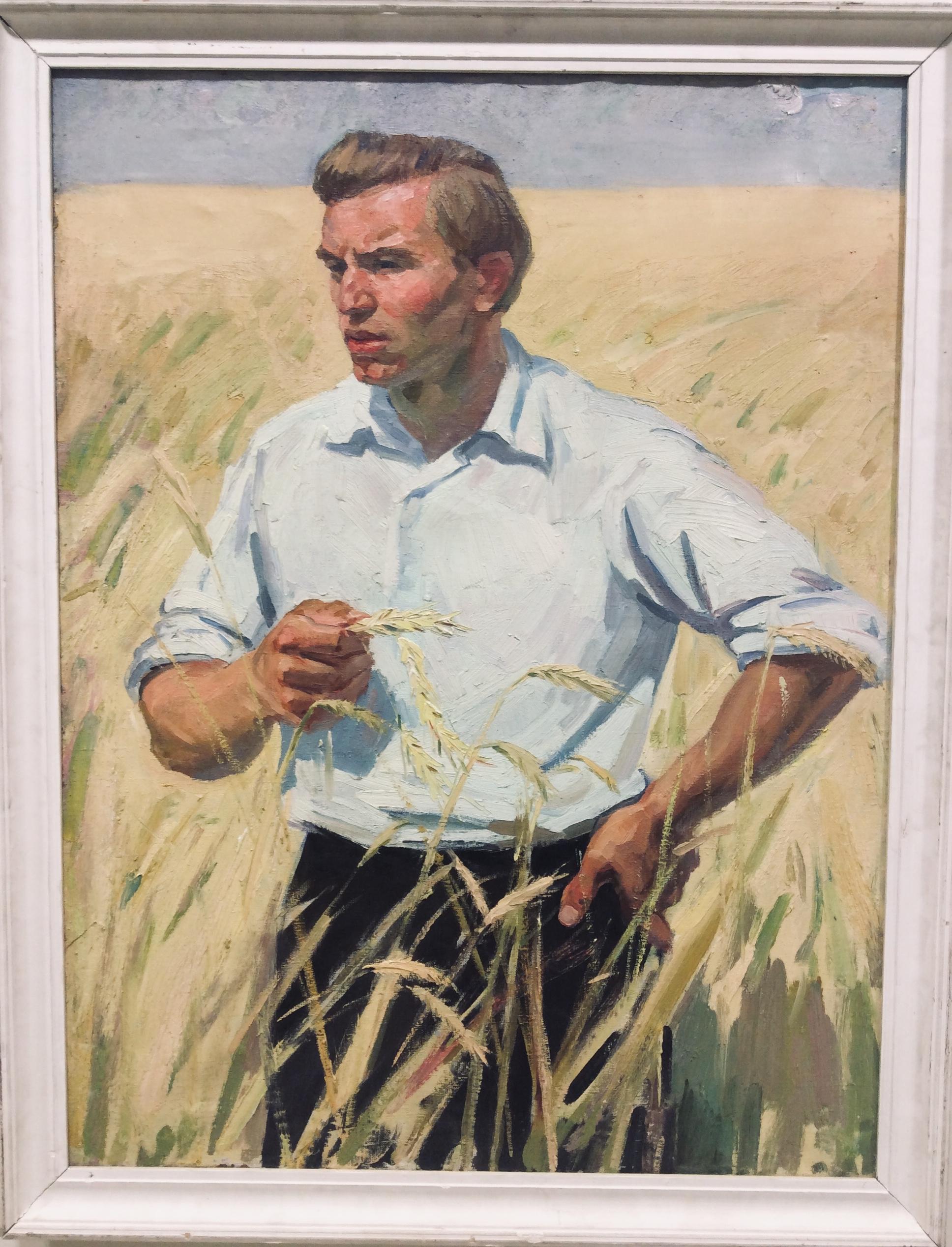Г.Гришин. Мужской портрет. 1975г.