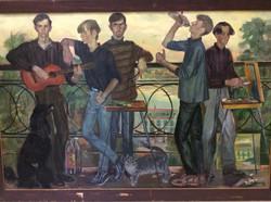"""И.Широкова """"Студенты"""" 1997г."""
