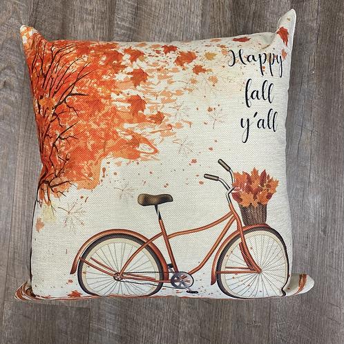 Happy fall y'all with bike