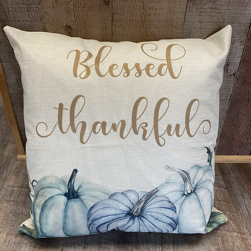 Blessed Thankful Pillow