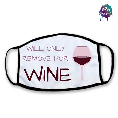 Will only remove for wine Mask