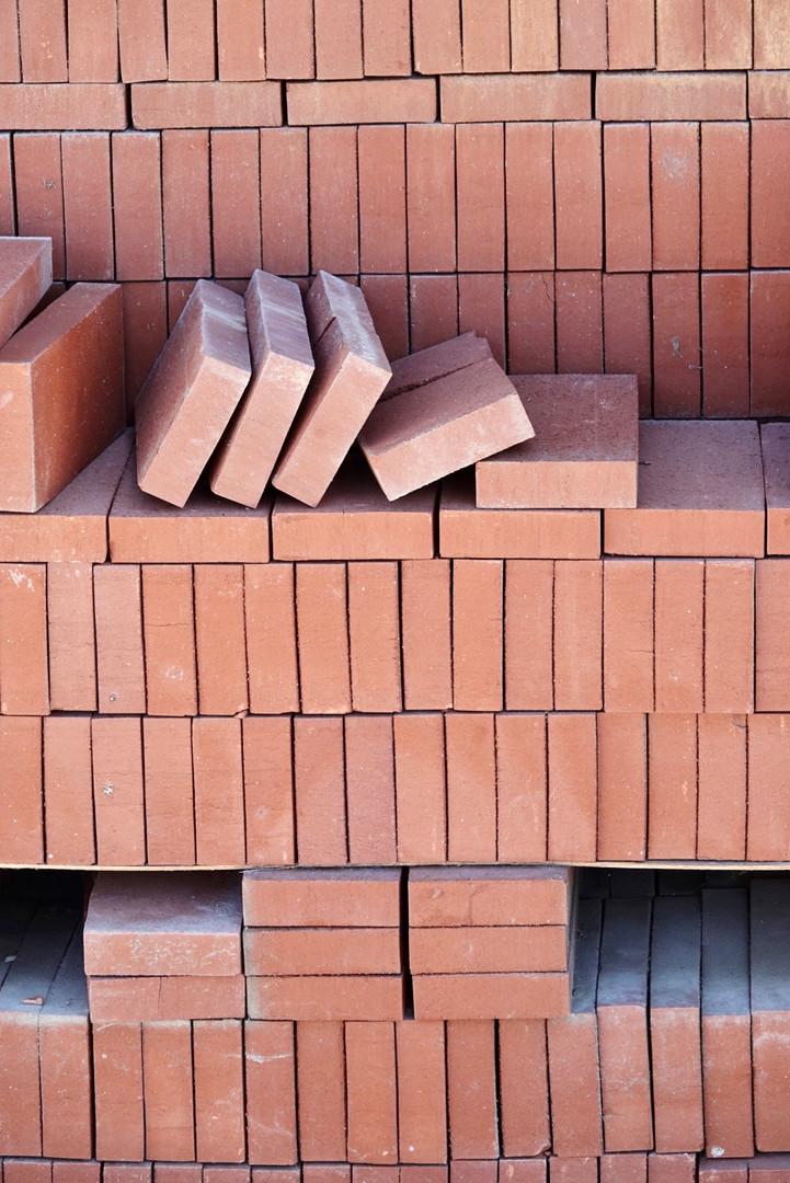 Red Common Split Bricks