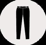 Reißverschluss für Hosen