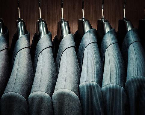 Maßanzüge Garderobe