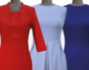 Kleider, Brautkleider, Etuikleider, Ballkleider Reinigung