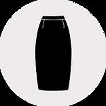 Reißverschluss für Röcke