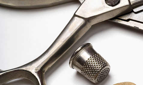 Änderung und Reparatur von Textil und Leder, Maßschneiderei, Änderungsschneiderei