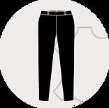 Reißverschluss für Lederhosen
