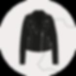 Reißverschluss für Lederjacken