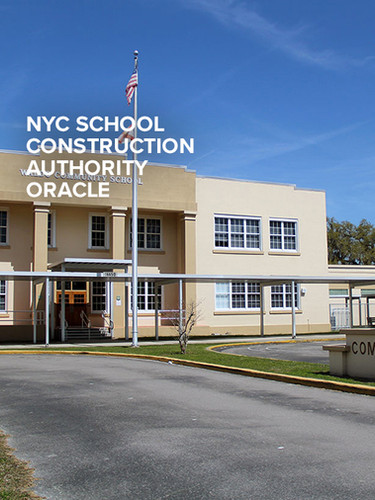 NYC SCHOOL CONSTRUCTION AUTHORITY ORACLE Primavera Consulting Services