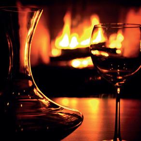 O vinho para aquecer