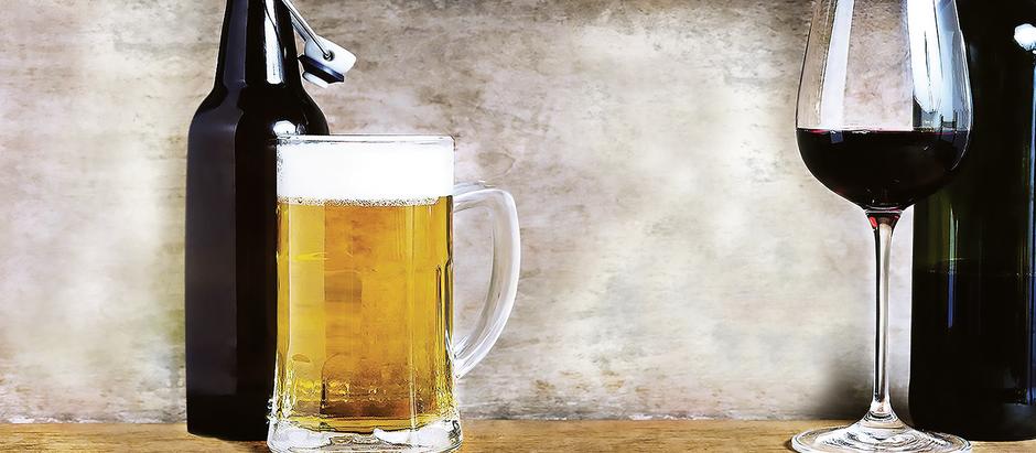 Vinho ou cerveja?
