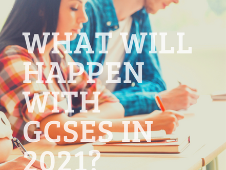What will happen with GCSEs in 2021?