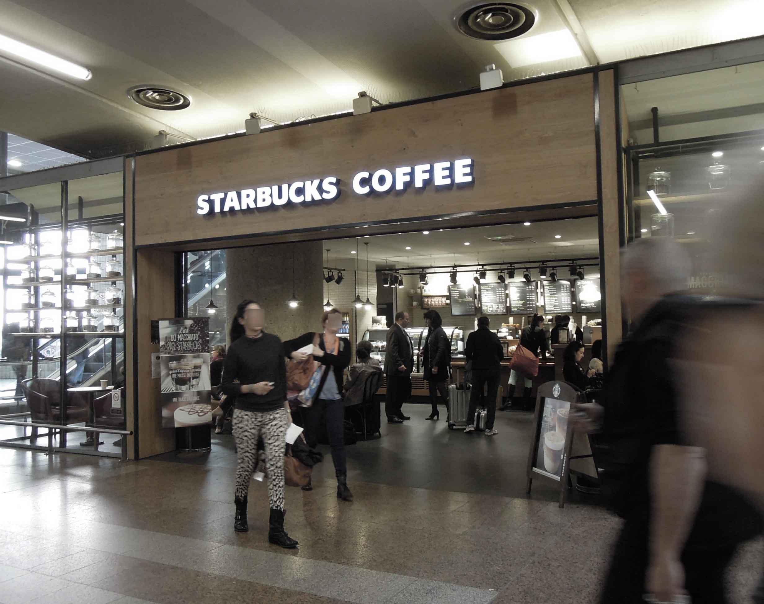 Starbucks Lyon Part Dieu