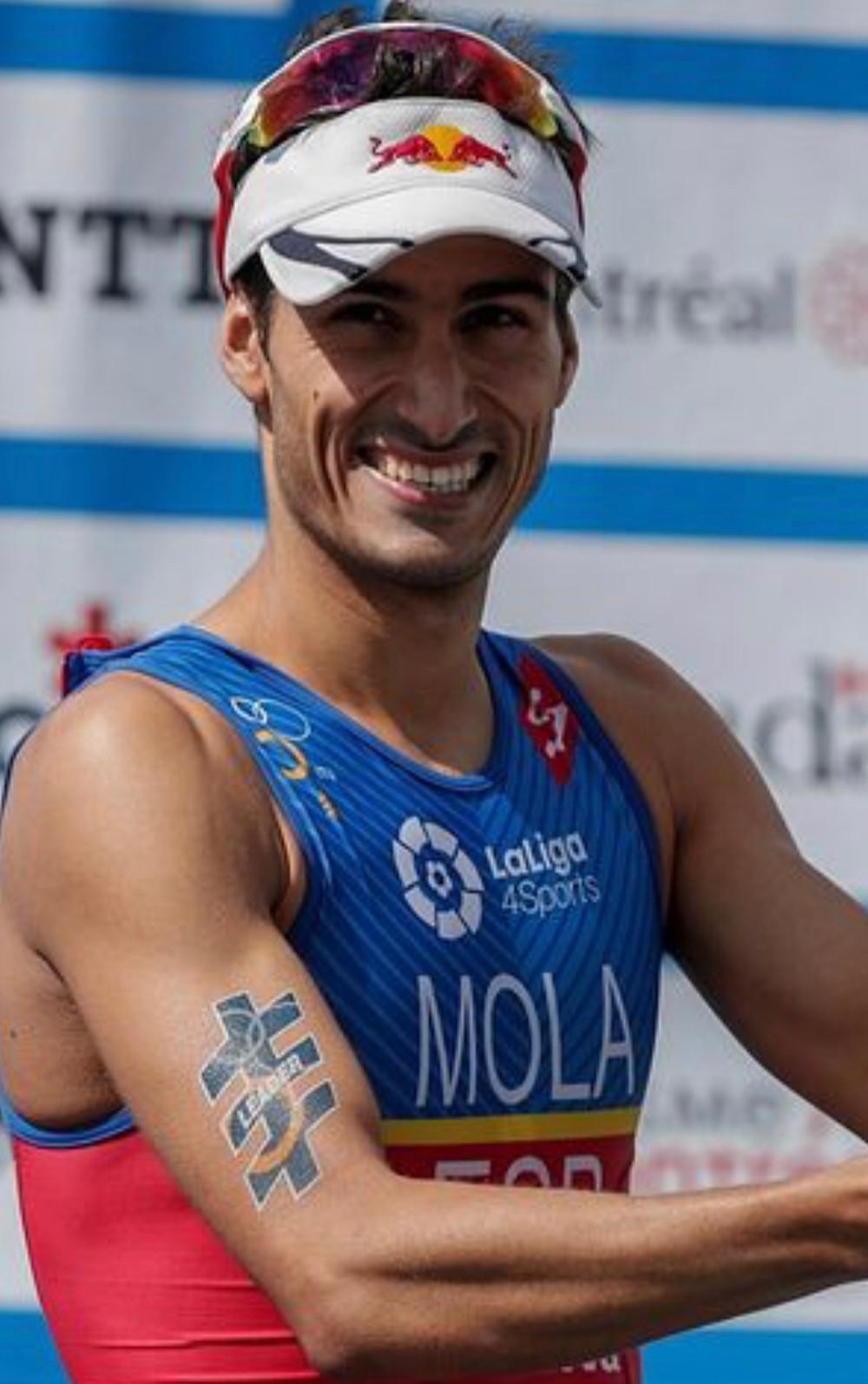 Enhorabuena Mario Mola. campeón del Mundo de Triatlón 2018, un ejemplo de deportista y estudiante.