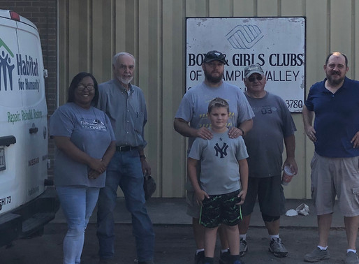 Fayette County Habitat partners with Boys & Girls Club in Schulenburg