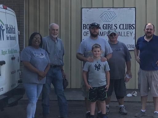 Fayette County Habitat partners with Boys & Girls Club in Schulenburg
