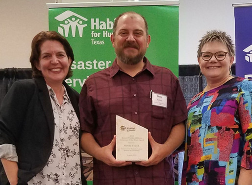 HFHTX Names Kenny Couch Affiliate Volunteer of the Year