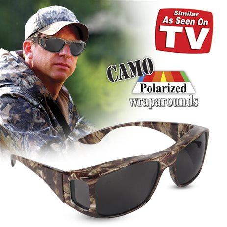 Camo Polarized Wraparounds