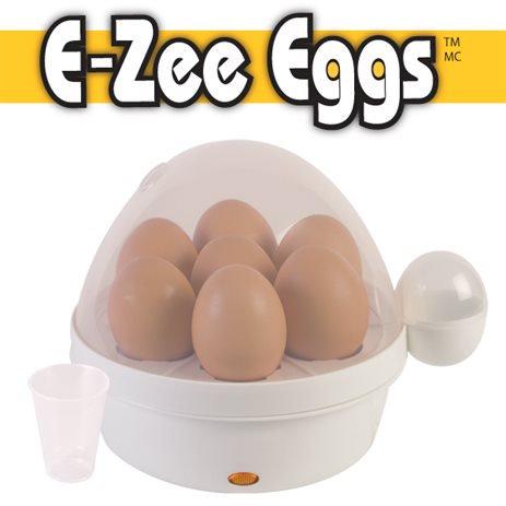E-Zee Eggs Electric Cooker - Cooks 7 Eggs