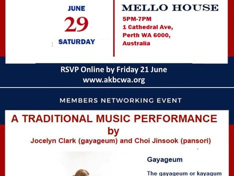 Event Invitation] AKBCWA EOFY Members Night