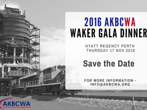 AKBCWA Waker Gala Dinner 2016 - Notice