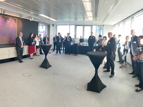 Photos] AKBCWA Cocktail Reception with Mr. Jean Ough, Commissioner of the Government of Western Aust
