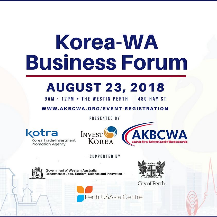 Korea - Western Australia Business Forum (1)