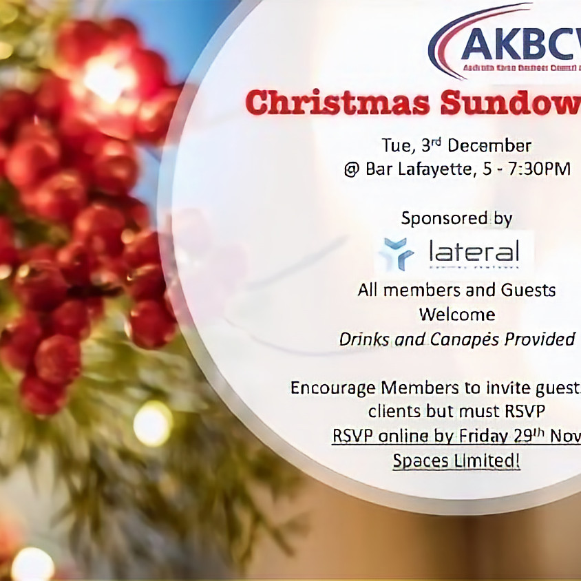 AKBCWA Christmas Sundowner